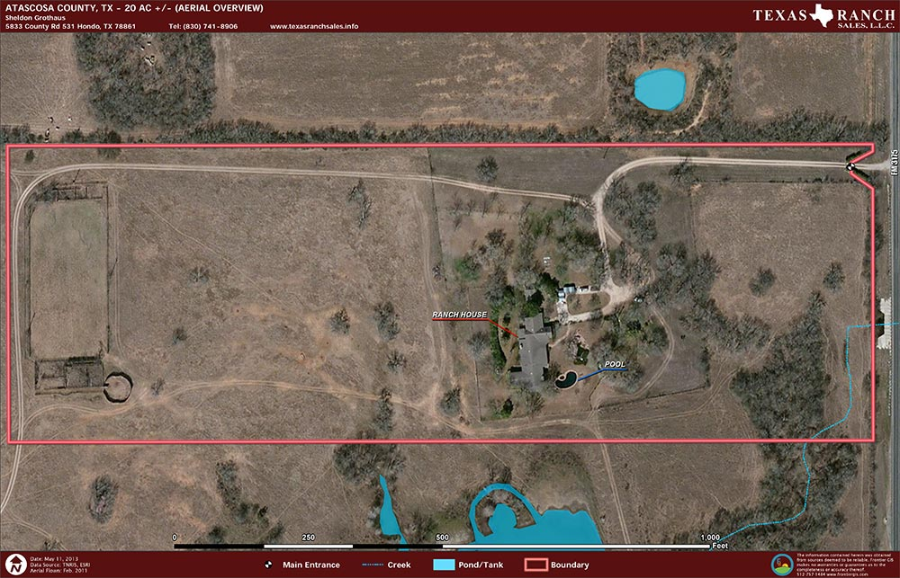 Texas Ranch For Sale 20 Acres Ranch Real Estate In